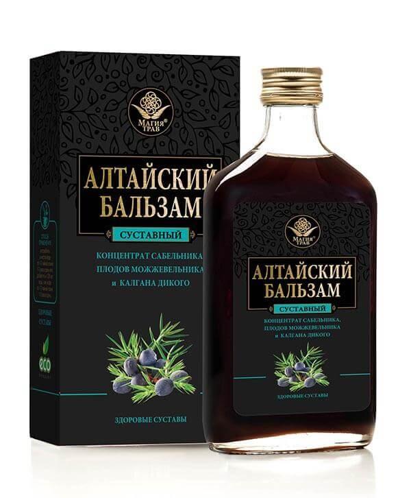 Алтайский Бальзам «Здоровые Суставы» 250 мл