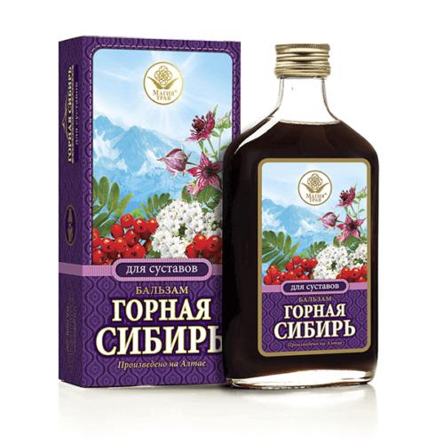 Бальзам «Горная Сибирь» Для Суставов 250 мл