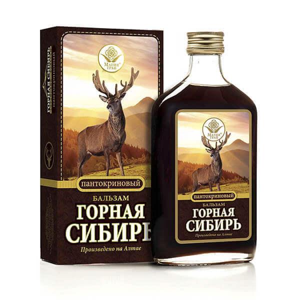 Бальзам «Горная Сибирь» Пантокриновый 100 мл