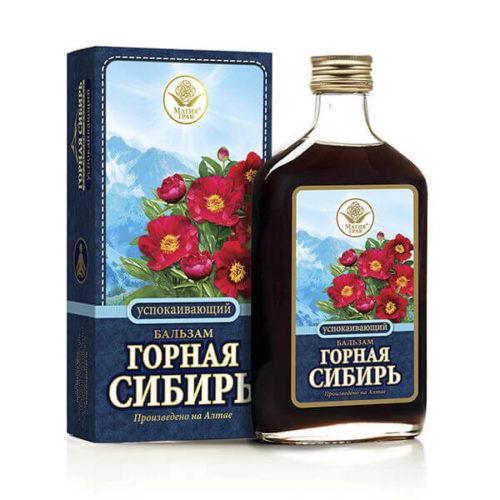 Бальзам «Горная Сибирь» Успокаивающий 250 мл
