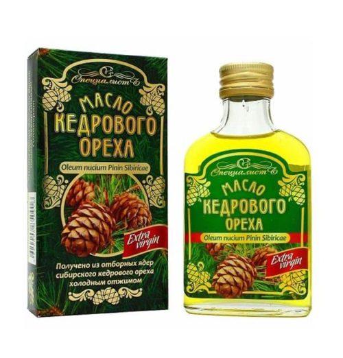 Масло кедрового ореха «Алтай» 100 мл