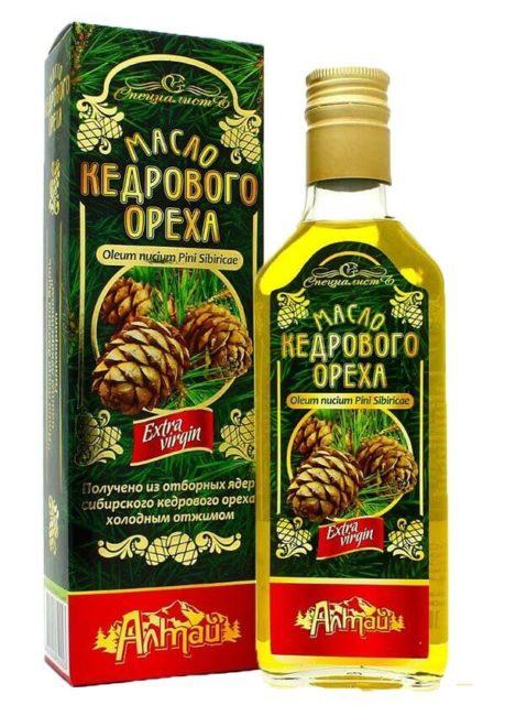Масло кедрового ореха «Алтай» 250 мл