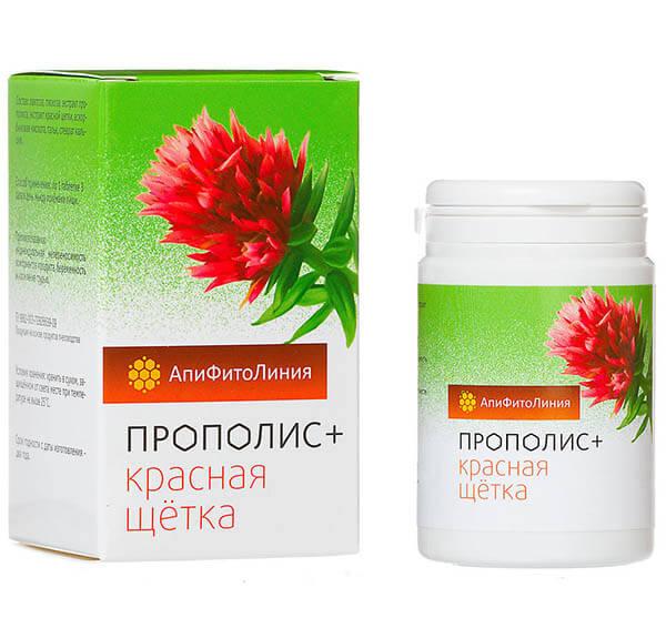 Прополис+ Красная Щетка 60 Таблеток