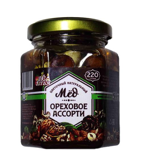 Медово-Ореховое Ассорти 220 г