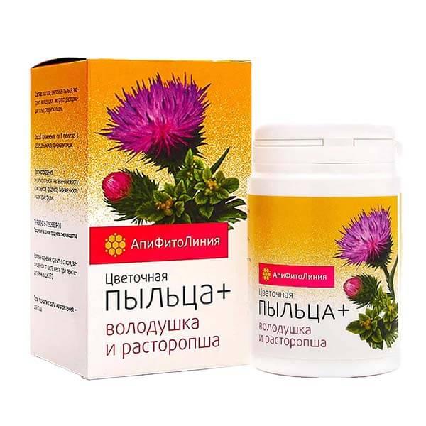 Цветочная Пыльца+ Володушка И Расторопша 60 таблеток