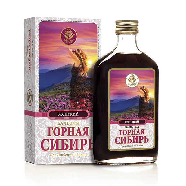 Бальзам «Горная Сибирь» Женский 100 мл
