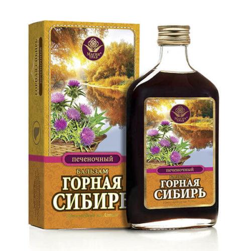 Бальзам «Горная Сибирь» Печеночный 250 мл