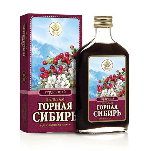 Бальзам «Горная Сибирь» Сердечный 250 мл