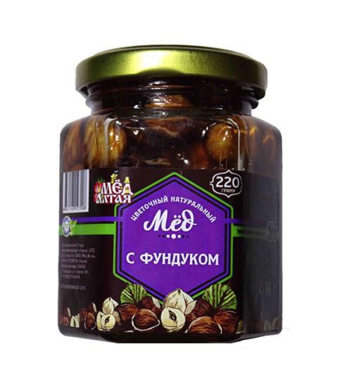 Мёд Алтайский с Фундуком 220 г