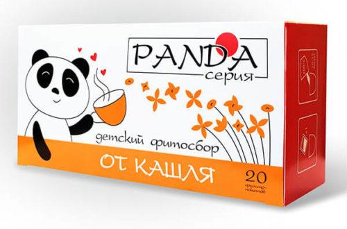 Травяной фитосбор «От кашля» серия «Панда» 20 фильтр-пакетов по 1,5 гр.