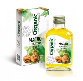 Масло грецкого ореха «Organic Altay» 100 мл