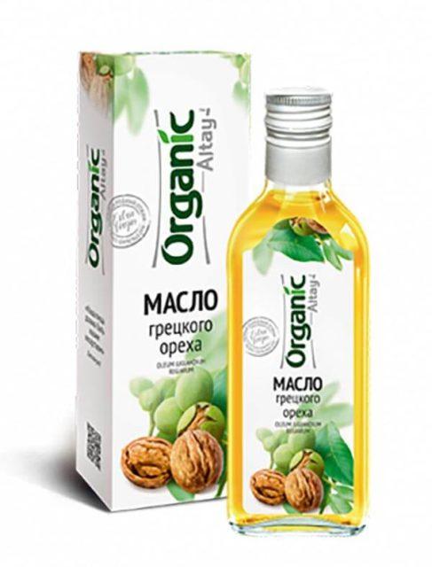 Масло грецкого ореха «Organic Altay» 250 мл