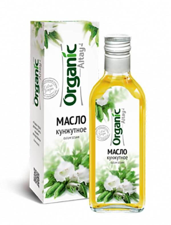 Масло кунжутное «Organic Altay» 250 мл
