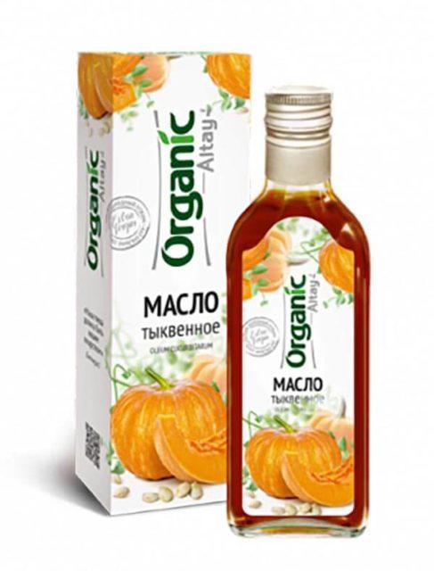Масло тыквенное «Organic Altay» 250 мл