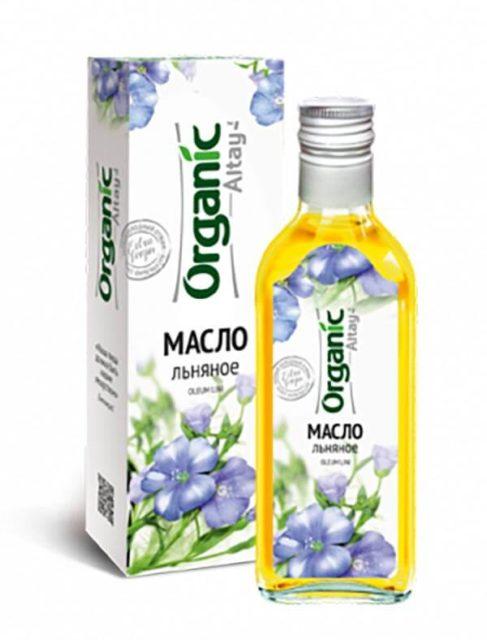 Масло льняное «Organic Altay» 250 мл