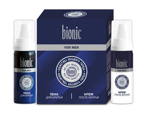 Подарочный Набор для Мужчин «Bionic» (Пена+Крем)