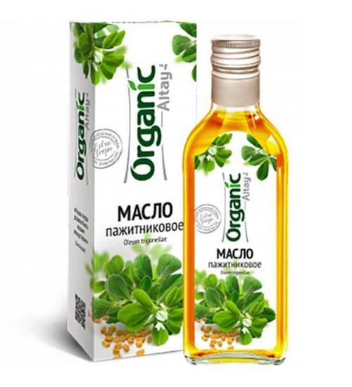 Масло пажитниковое (хельбы) «Organic Altay» 250 мл