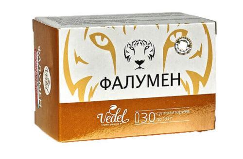 Фалумен - свечи для мужчин 30 шт