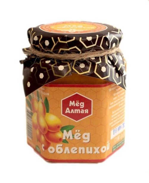 Мёд Алтайский с Облепихой 180 г