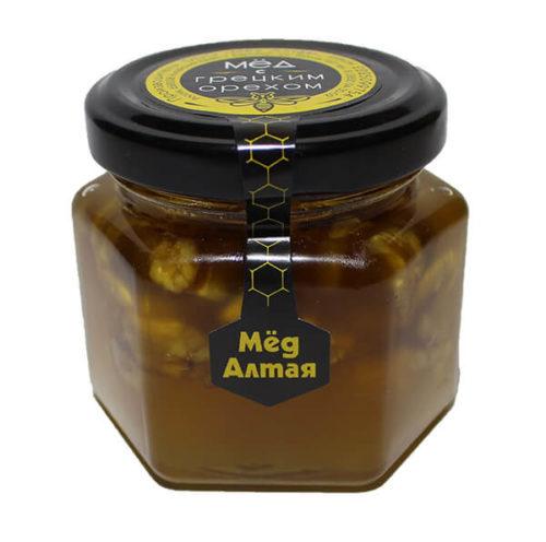 Мёд Алтайский с Грецким Орехом 150 г