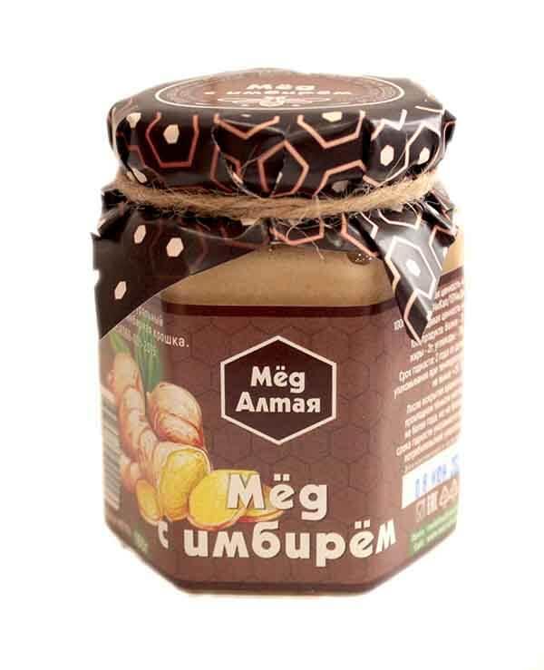 Мёд Алтайский с Имбирём 180 г