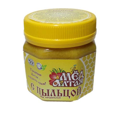 Мёд Алтайский с Цветочной Пыльцой 260 г