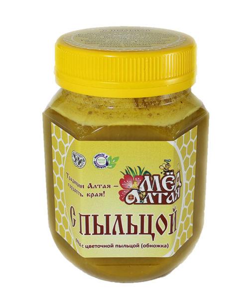 Мёд с Цветочной Пыльцой 450 г