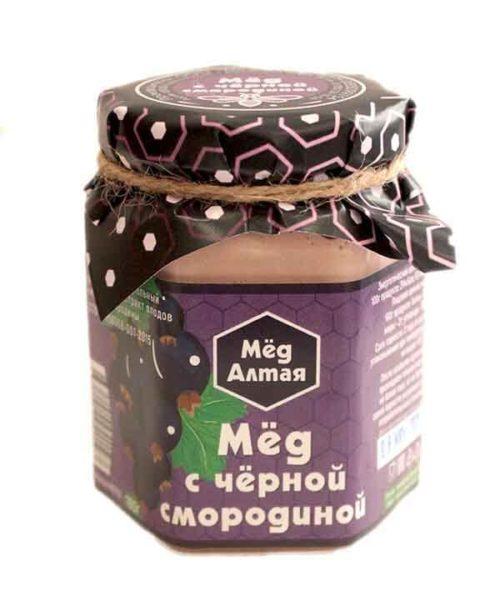 Мёд Алтайский с Черной смородиной 180 г