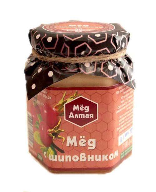 Мёд Алтайский с Шиповником 180 г