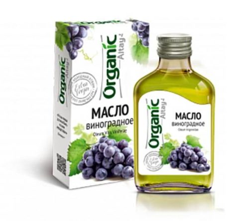 Масло виноградное «Organic Altay» 100 мл