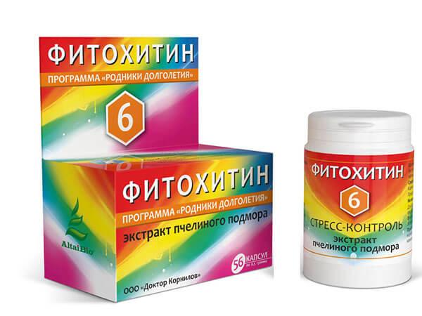 "Фитохитин – 6 ""Стресс-Контроль"" 56 капсул"