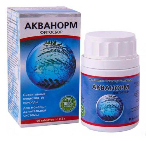 Акванорм Фитосбор - Для Почек И Мочевыводящих Путей 90 таблеток