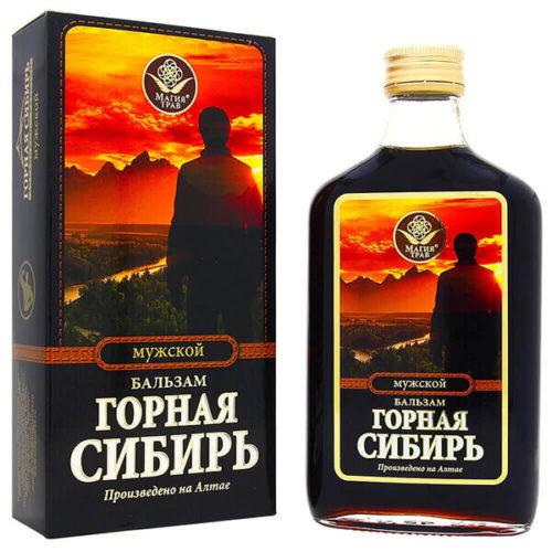 Бальзам «Горная Сибирь» Мужской 100 Мл