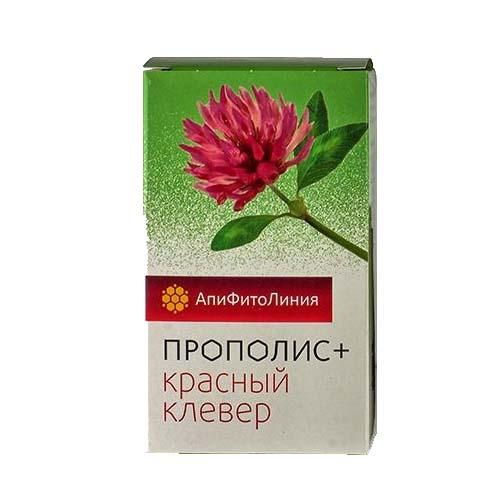 Прополис+ Красный Клевер 60 таблеток
