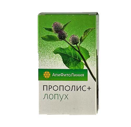Прополис+ Лопух 60 таблеток