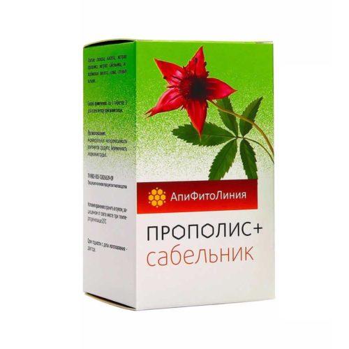 Прополис+ Сабельник 60 таблеток