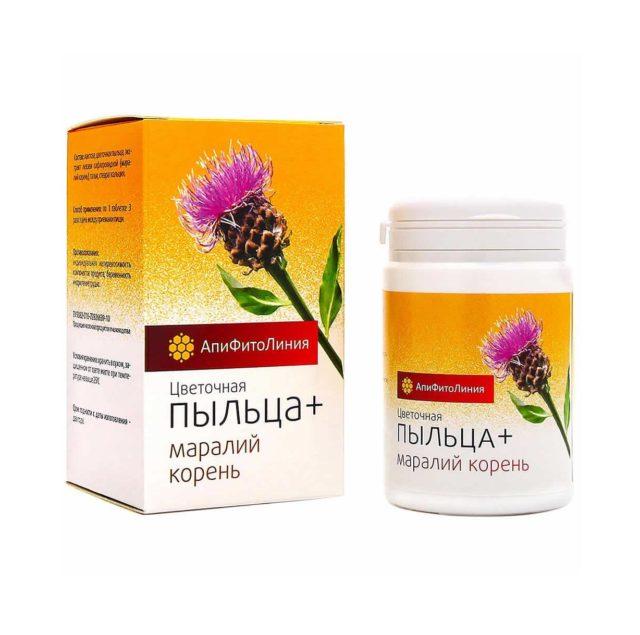 Цветочная Пыльца + Маралий Корень 60 таблеток