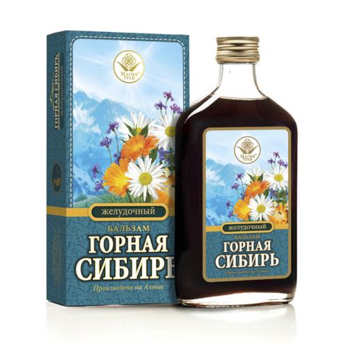 Бальзам «Горная Сибирь» Желудочный 250 мл