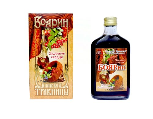 """Бальзам для здоровья сердца """"Боярин"""" 250 мл"""