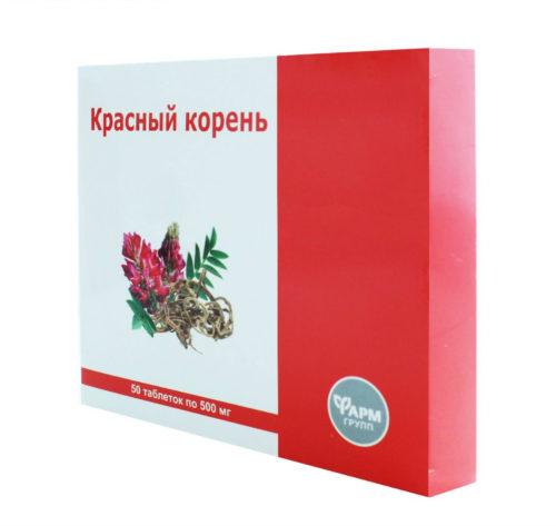 Красный Корень 50 таблеток