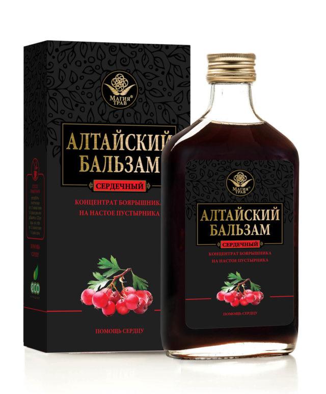 """Алтайский бальзам """"помощь сердцу"""" 250 мл"""