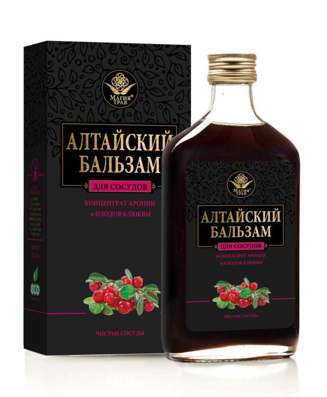 """Алтайский бальзам """"для сосудов"""" 250 мл"""