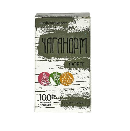 Чаганорм форте 60 таблеток