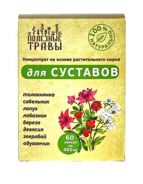 Фитокомплекс «Полезные травы» для Суставов 60 капсул