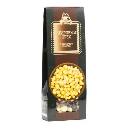 Кедровый орех в шоколаде ассорти драже | 100 г