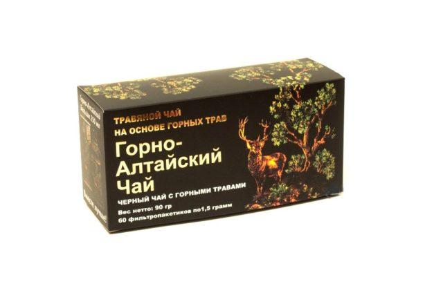 """""""Горно-Алтайский чай """" черный чай с горными травами 60 фп"""