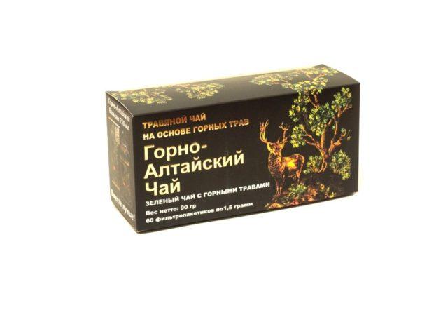 """""""Горно-Алтайский"""" c зеленым чаем и горными травами 60 фп"""