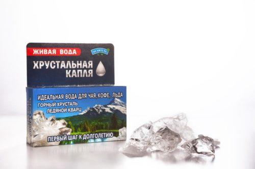 Хрустальная капля (горный хрусталь, ледяной кварц) 40гр