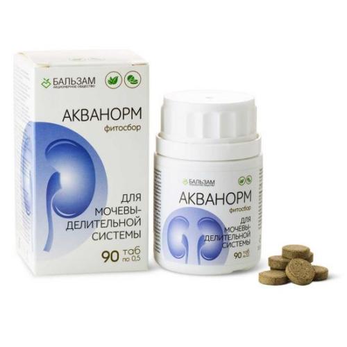 «Акванорм» фитосбор 90 таблеток