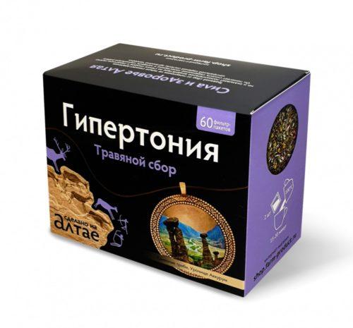 Травяной сбор «Гипертония» 60 фп
